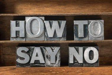 5 דרכים איך להגיד לא בעבודה ולהשאר בחיים או לפחות במקום עבודה…