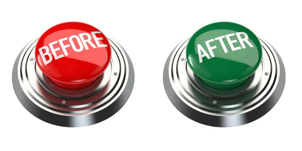 אימון קריירה לפני ואחרי